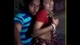 Desi Indian village couple having secret sex