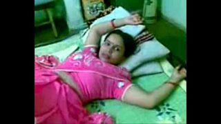 Telugu Kamala aunty fucked by neighbor