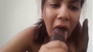 Gujarati sexy bhabhi hot blowjob porn video