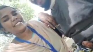 Tamil it company girl outdoor blowjob video