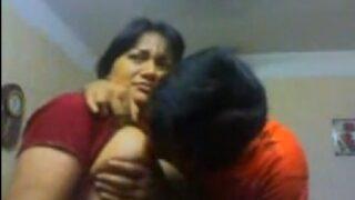 Sucking boobs of sexy marathi aunty