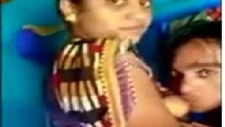 Bengali boudi boobs sucked by young devar