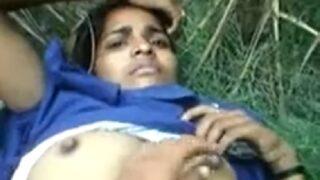 Desi village girl sarita hard sex in jungle