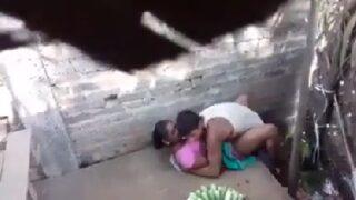 Desi village wife secret sex caught on cam